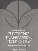 Cover image for Electronic transmission technology
