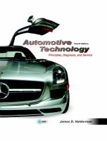 Cover image for Automotive technology : principles, diagnosis, and service