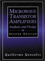 Cover image for Microwave transistor amplifiers : analysis and design