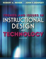 Cover image for Trends and issues in instructional design and technology