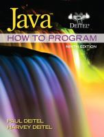 Cover image for Java : how to program