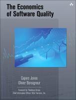 Cover image for The economics of software quality