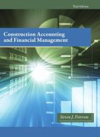 Cover image for Construction accounting and financial management