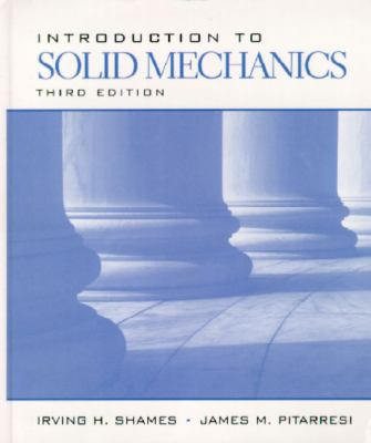 Cover image for Introduction to solid mechanics