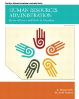 Cover image for Human resources administration : personnel issues and needs in education