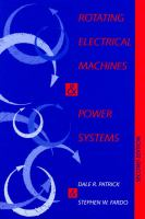 Cover image for Rotating electrical machines and power systems