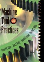 Cover image for Machine tool practices