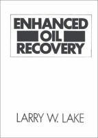 Cover image for Enhanced oil recovery