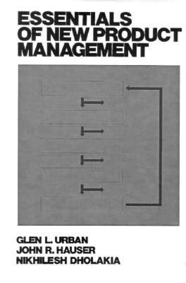 Cover image for Essentials of new product management