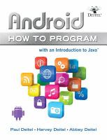 Cover image for Android how to program