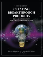 Cover image for Creating breakthrough products : revealing the secrets that drive global innovation