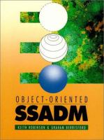 Cover image for Object-oriented SSADM