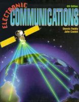 Cover image for Electronic communications