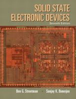 Cover image for Solid state electronic devices