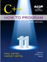 Cover image for C++ how to program