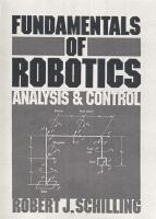 Cover image for Fundamentals of robotics analysis and control