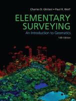 Cover image for Elementary surveying : an introduction to geomatics