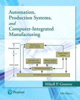 Cover image for Automation, Production Systems, and Computer-Integrated Manufacturing