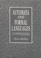 Cover image for Automata and formal languages : an introduction