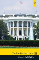 Cover image for The president as leader