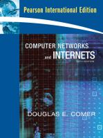 Cover image for Computer networks and internets