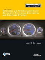 Cover image for Diagnosis and troubleshooting of automotive electrical, electronic, and computer systems