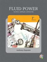 Cover image for Fluid power with applications