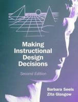 Cover image for Making instructional design decisions