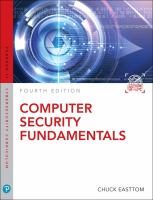 Cover image for Computer Security Fundamentals