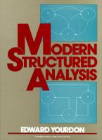 Cover image for Modern structured analysis