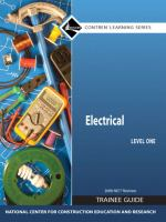 Cover image for Electrical level one : trainee guide