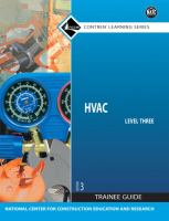Cover image for HVAC : level three trainee guide