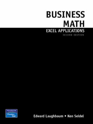 Cover image for Business math excel applications