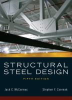 Cover image for Structural steel design