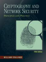 Cover image for Cryptography and network security : principles and practice