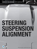 Cover image for Automotive steering, suspension, and alignment