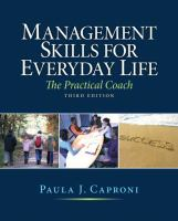 Cover image for Management skills for everyday life : the practical coach
