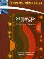 Cover image for Distributed systems : principles and paradigms