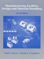 Cover image for Manufacturing facilities design and material handling