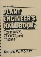 Cover image for Plant engineer's handbook of formulas, charts, and tables