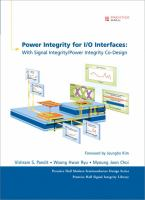 Cover image for Power integrity for I/O interfaces : with signal integrity/power integrity co-design