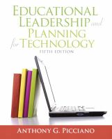 Cover image for Educational leadership and planning for technology