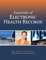 Cover image for Essentials of electronic health records