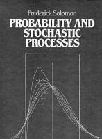 Cover image for Probability and stochastic processes