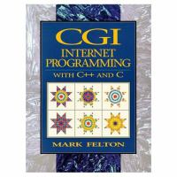 Cover image for CGI internet programming with C++ and C
