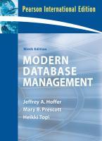 Cover image for Modern database management
