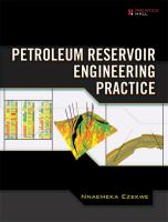 Cover image for Petroleum reservoir engineering practice