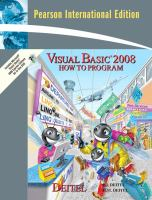 Cover image for Visual basic 2008 : how to program