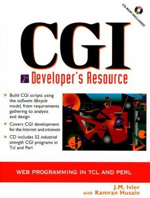 Cover image for CGI developer's resource : web programming in TCL and PERL