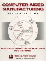 Cover image for Computer-aided manufacturing